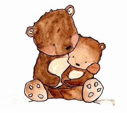 Bear Mama Clipart Mother Clip Teddy Tattoo