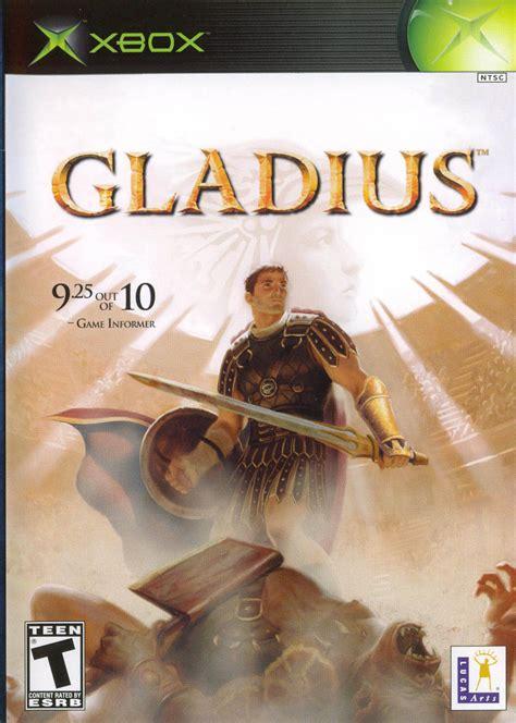gladius  xbox  mobygames