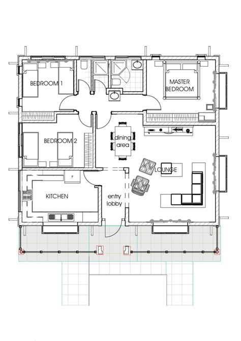 house plan house plans in kenya 3 bedroom bungalow house plan
