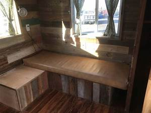 20ft tiny house on wheels 144 sq ft with two lofts With barn beams craigslist