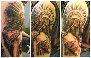 Religious Sleeve Tattoos Design Ideas for Men and Women ...