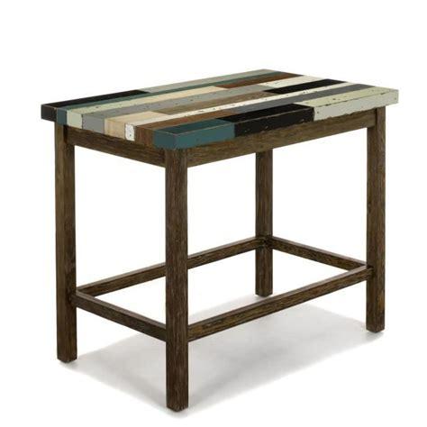 table cuisine rectangulaire table de bar haute rectangulaire maison design bahbe com
