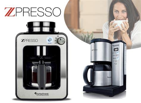 Koffiebonen Zet Apparaat by Turbotronic Zpresso Koffiezetapparaat De Allerlekkerste
