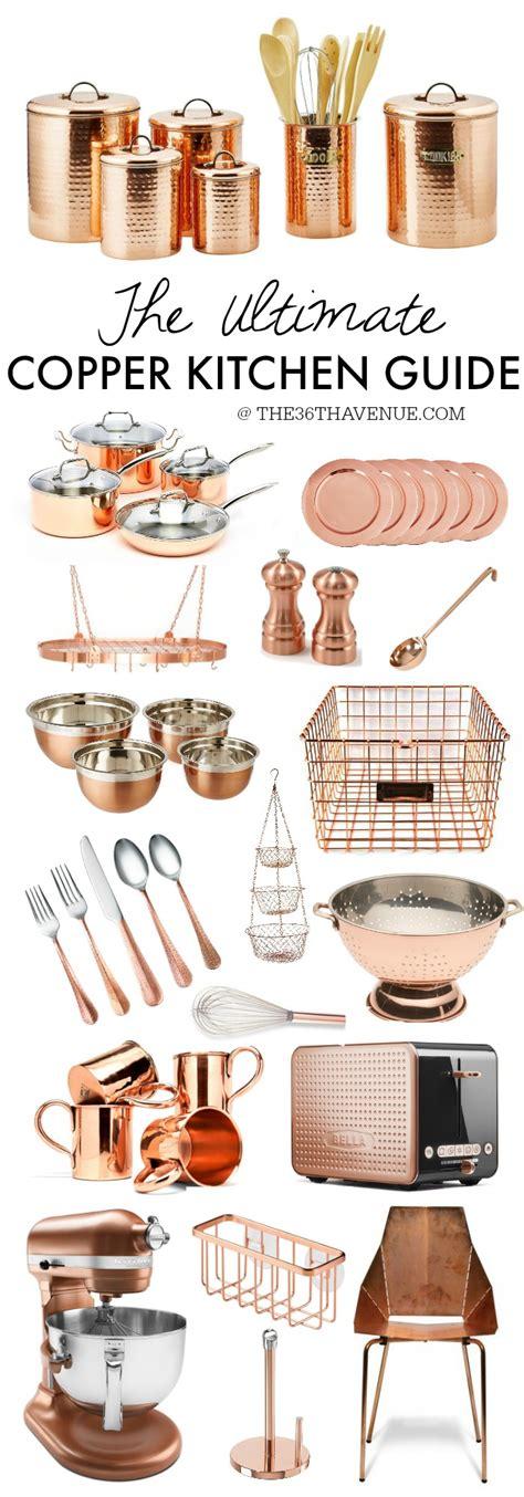 copper kitchen accessories copper kitchen decor guide the 36th avenue