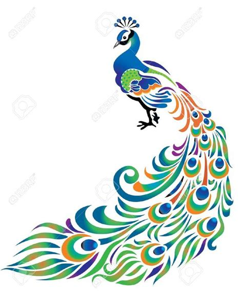 asian peacock clipart   cliparts  images
