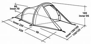 Robens Voyager 2 Tunnel Tent - Tents by Size - Tents