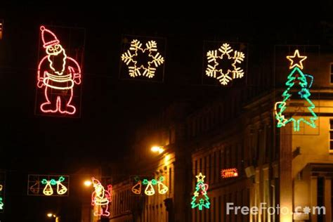 christmas lights newcastle upon tyne pictures free use