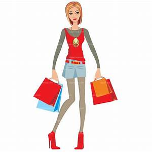 CLIPART SHOPPING LADY | Clipart Panda - Free Clipart Images