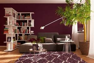 Wandfarbe Grau Schöner Wohnen : wandfarbe beere trendy farbt ne f r eine moderne wandgestaltung ~ Sanjose-hotels-ca.com Haus und Dekorationen