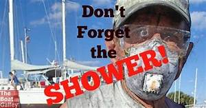 Don't Forget the Shower | The Boat Galley