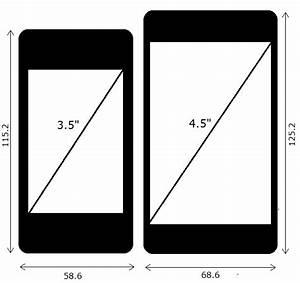 42zoll In Cm : displaygr en im vergleich so sieht ein 4 7 zoll iphone 5 neben einem 3 5 zoll iphone 4 aus ~ Markanthonyermac.com Haus und Dekorationen