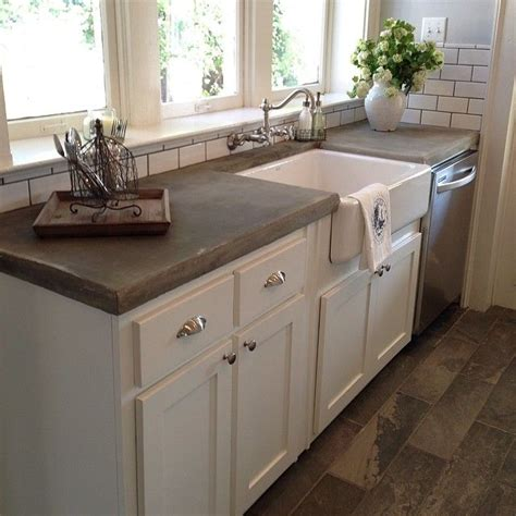 kitchen countertops concrete open airy spaces and also clients that like