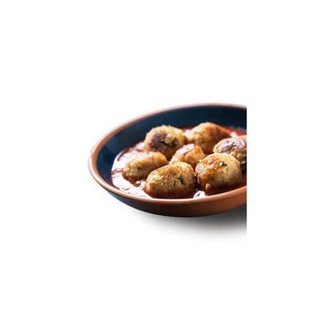 plat cuisiné regime boulettes végétariennes sauce tomate plat cuisiné sans