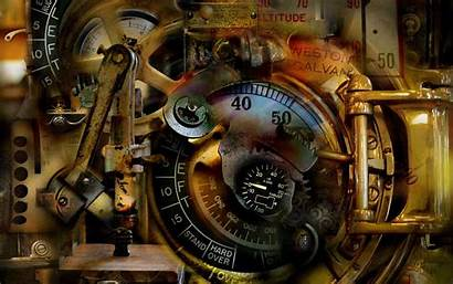 Steampunk Mechanical Surreal Abstract Wallpapers Dream Antique