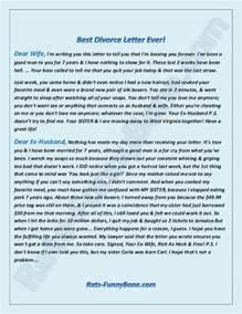 dear ex husband the best divorce letter ever