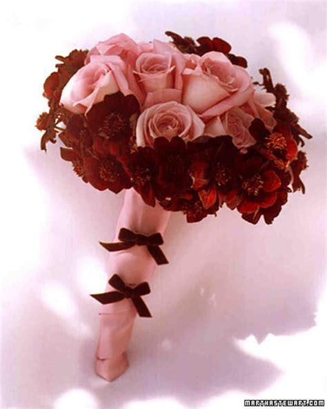 red wedding flowers martha stewart weddings