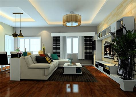 Ceiling Lights Design For Minimalist Living Dining Room