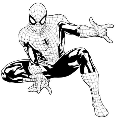 disegni da colorare  stampare gratis  spiderman