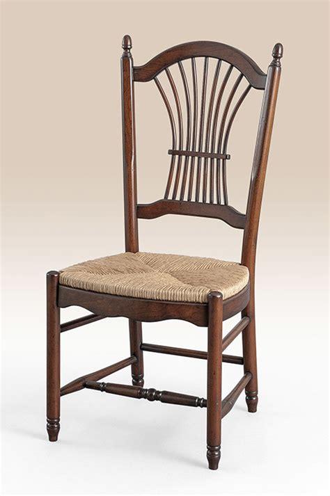 country manor wheatback side chair