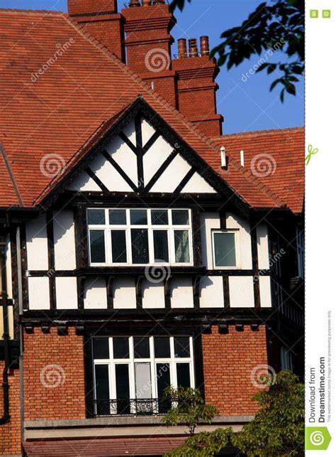 british style house stock photo image  tree rent
