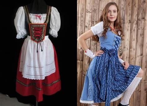 dirndl traditional german dress  bavaria