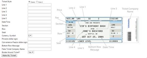 printable  ticket templates  psd  excel