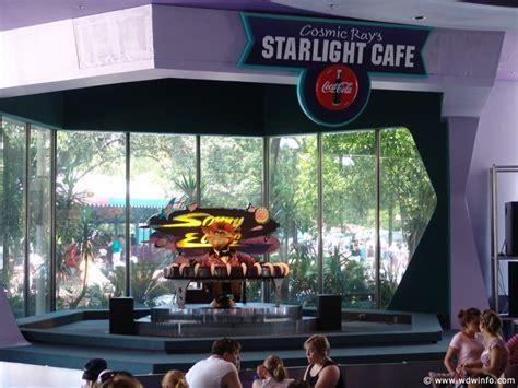 Cosmic Ray's Starlight Cafe Menu , Review - Magic Kingdom