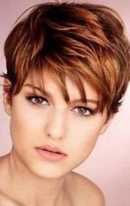 Coupe De Cheveux Tete Ronde : pixie hair cut so darn cute wish i had the guys to cut my hair this short hair pinterest ~ Melissatoandfro.com Idées de Décoration