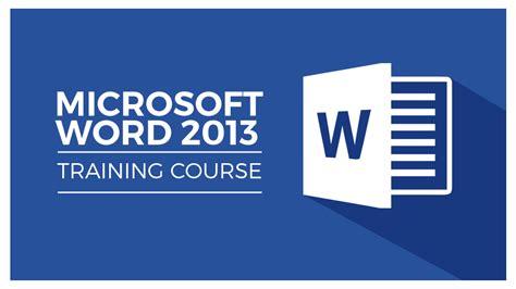 Learn Microsoft Word 2013   Stream Skill