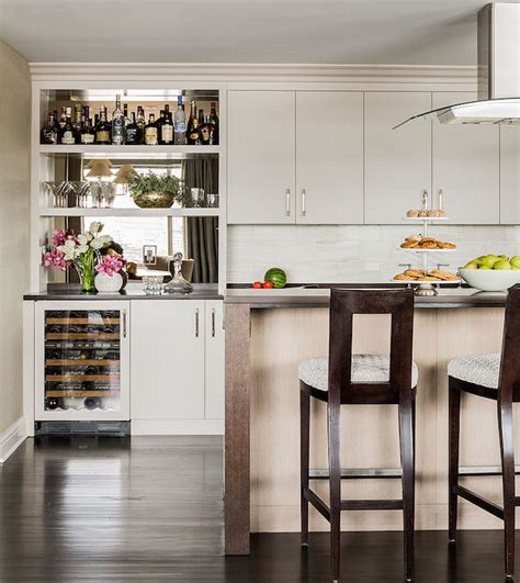 kitchen bar  mini wine fridge  beverage fridge