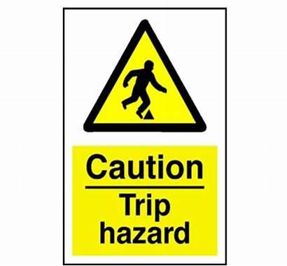 Hazard Trip Caution Signs Sign Clipart Clip