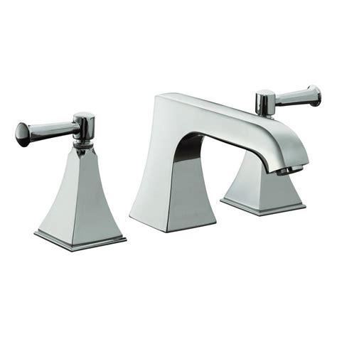 kohler memoirs    handle bathroom faucet  polished chrome  stately design  lever