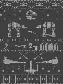Star Wars Christmas Sweater Pattern