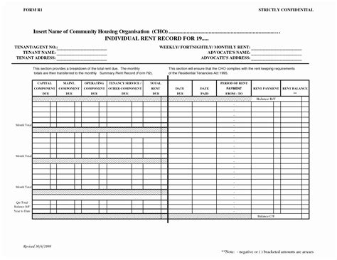 Record Keeping Template Excel New Record Keeping Template