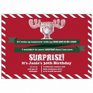 Christmas Design Dinner Plates Surprised Moose Mug Christmas Vacation Invitations