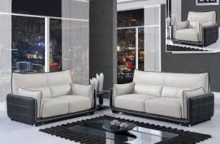 designer sofas mã nchen black and grey contemporary 3 bonded leather sofa set boston massachusetts gf220