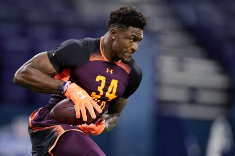 dk metcalf crushed scouting combine  speed physique