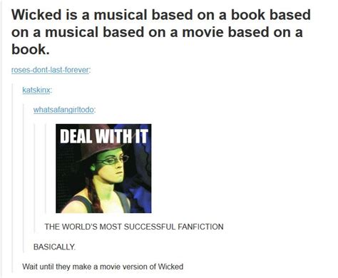 Wicked The Musical Memes - wicked tumblr funny wicked the musical pinterest dr oz the movie and the originals