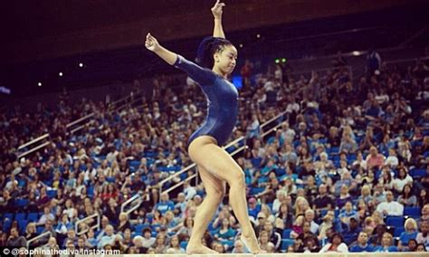 hit the floor quan ucla gymnast sophina dejesus whips and nae naes her way to online fame daily mail online