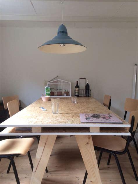 Diy Table Osb  Living  Pinterest  Stains, Inspiration