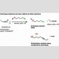 Acid Base Reactions Are Fast — Master Organic Chemistry