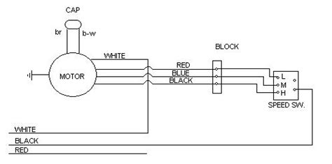 3 speed blower motor wiring diagram wiring diagram and schematic diagram