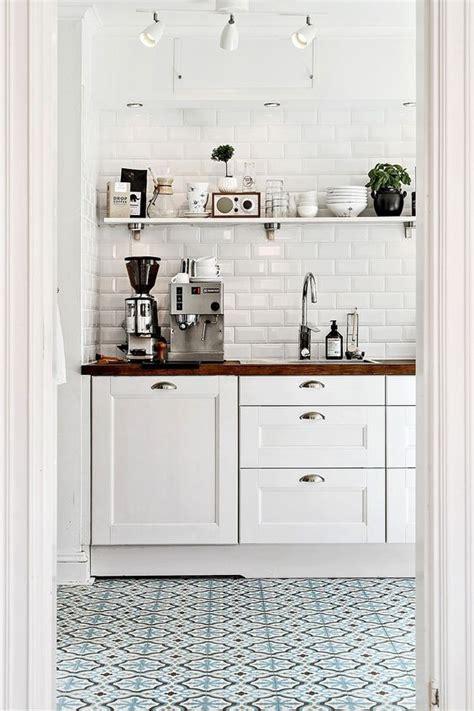 piastrelle cucina bianche il fascino retr 242 delle piastrelle diamantate in cucina