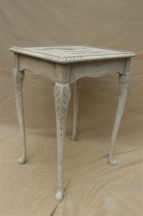 shabby chic nesting tables shabby chic single nest table no 03 touch the wood