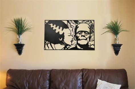 Home Decor Group : Bride & Frankenstein Metal Wall Art Home Decor