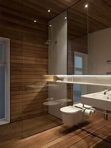 Salle De Bain En Bois : lambris salle de bain bois ~ Dailycaller-alerts.com Idées de Décoration