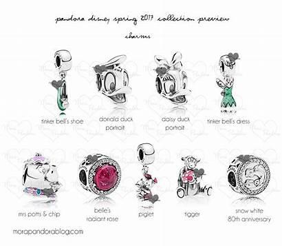 Pandora Disney Spring Charms Bracelet Duck Jewelry