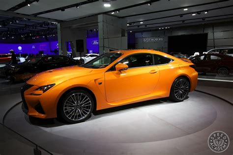 rcf lexus orange what s from the canadian international auto show