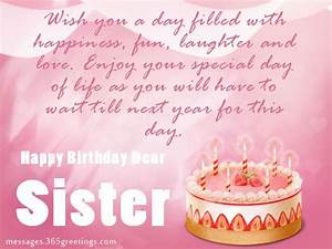 Birthday wishes For Sister, that warm the heart | Warm ...