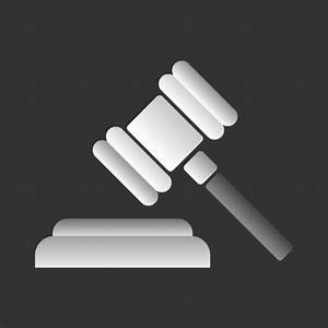 Law, Gavel or Justice Icon Free only on Vector Icons Download